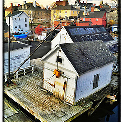"""The South End of Portsmouth, New Hampshire. iPhone photo - file size appropriate for print reproduction up to 8"""" x 12""""."""