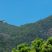Cable car station on Langkawi highest point - mount Gunung Machinchang, Langkawi, Malaysia