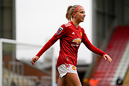 Manchester United Women midfielder Jackie Groenen (14) in action during the FA Women's Super League match between Manchester United Women and BIrmingham City Women at Leigh Sports Village, Leigh, United Kingdom on 24 January 2021.