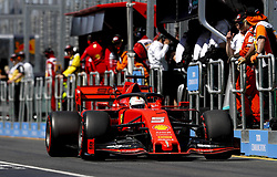 March 15, 2019 - Melbourne, Australia - Motorsports: FIA Formula One World Championship 2019, Grand Prix of Australia, ..#5 Sebastian Vettel (GER, Scuderia Ferrari Mission Winnow) (Credit Image: © Hoch Zwei via ZUMA Wire)