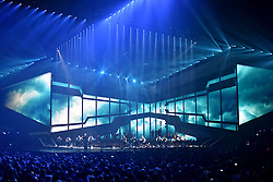Emeli Sande on stage at the BRIT Awards 2017, held at The O2 Arena, in London.<br /><br />Picture date Tuesday February 22, 2017. Picture credit should read Matt Crossick/ EMPICS Entertainment. Editorial Use Only - No Merchandise.