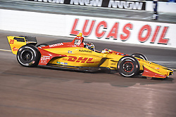 April 6, 2018 - Phoenix, AZ, U.S. - PHOENIX, AZ - APRIL 07: Driver Ryan Hunter-Reay in the Verizon IndyCar Series Desert Diamond West Valley Casino Phoenix Grand Prix on April 7, 2018, at ISM Raceway in Phoenix, AZ. (Photo by Grant Exline/Icon Sportswire) (Credit Image: © Grant Exline/Icon SMI via ZUMA Press)