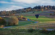 Krajobraz Małopolski w okolicach Kasinki