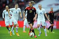 Lena Goessling of Germany Women<br /> - Womens International Football - England vs Germany - Wembley Stadium - London, England - 23rdNovember 2014  - Picture Robin Parker/Sportimage
