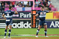 Henry Chavancy / Juan Imhoff - 29.05.2015 - Stade Francais / Racing Metro - Barrages Top 14<br />