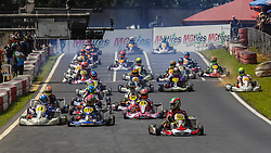 December 15, 2017 - Brazil - COTIA, SP - 15.12.2017: 500 MILHAS DE KART 2017 - On Thursday (14), free practice began, and today (15) the official training sessions of the most traditional Brazilian kartism will take place this Saturday (16) with more than 50 teams in search of victory, bringing together the biggest names in world motorsport of the most diverse categories like Formula 1, Indy, Formula 2, F3, StockCar, Copa Truck and the Kart. There are 12 hours of competition between teams competing in karts with prepared 4-stroke Honda engines. In the photo of the Shifter category. (Credit Image: © Fotoarena via ZUMA Press)