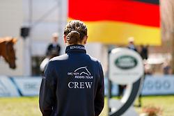 REDEFIN - Pferdefestival 2021<br /> <br /> Riders Tour, Branding, Land Rover<br /> Siegerehrung<br /> Preis der Jaguar Land Rover Deutschland GmbH<br /> CSI2* - Int. Zwei-Phasen-Springprüfung<br /> - Finale Mittlere Tour -<br /> <br /> Redefin, Landgestüt<br /> 09. May 2021<br /> © www.sportfotos-lafrentz.de/Stefan Lafrentz