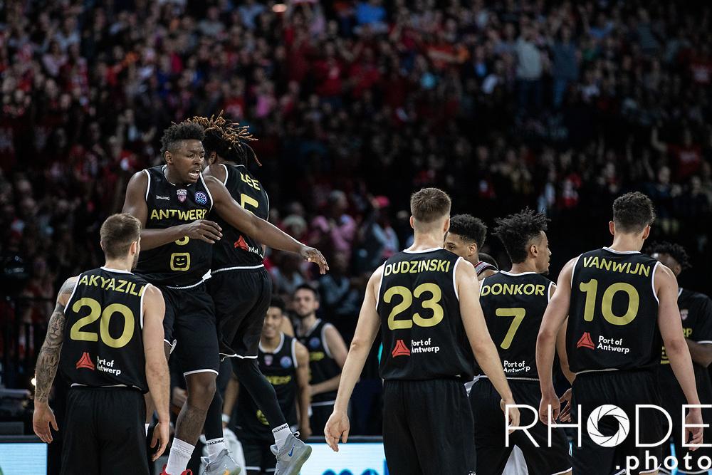 Basketball Champions League Final Four Antwerp 2019<br /> 3th place game: Brose Bamberg (GER) vs. Telenet Antwerp Giants (BEL) 58 - 72 <br /> <br /> <br /> ©RhodePhoto