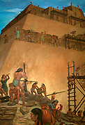 PERU, PREHISPANIC Moche (Mochica) building pyramid