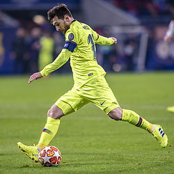February 19, 2019 - Lyon, França - LYON, LY - 19.02.2019: LYON X BARCELONA - Lionel Messi during the match between Lyon and Barcelona held at Parc Olympique Lyonnais in Lyon. The match is valid for the octaves of the Champions League 2018/2019. (Credit Image: © Richard Callis/Fotoarena via ZUMA Press)