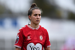 Ella Mastrantonio of Bristol City Women - Mandatory by-line: Ryan Hiscott/JMP - 18/10/2020 - FOOTBALL - Twerton Park - Bath, England - Bristol City Women v Birmingham City Women - Barclays FA Women's Super League