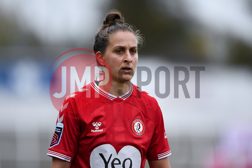 Ella Mastrantonio of Bristol City Women - Mandatory by-line: Ryan Hiscott/JMP - 18/10/2020 - FOOTBALL - Twerton Park - Bath, England - Bristol City Women v Birmingham City Women - Barclays FA Women's Super League
