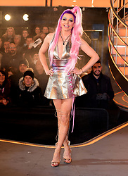 Courtney Act aka Shane Jenek is crowed the winner of the Celebrity Big Brother Final, held at Elstree Studios in Borehamwood, Hertfordshire.