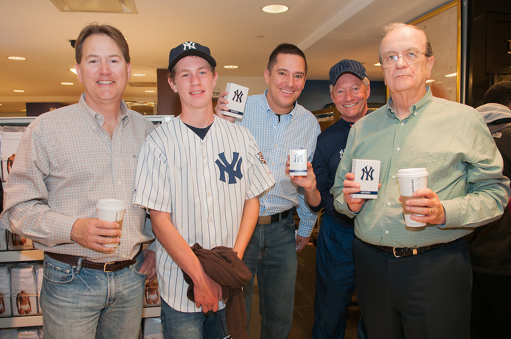 NY Yankees fragrance launch at Macy's department store in Midtown Manhattan. Photos by Tiffany L. Clark