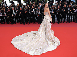 Natasha Poly attending the Oh Mercy! premiere, during the 72nd Cannes Film Festival. Photo credit should read: Doug Peters/EMPICS