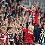 Besiktas's and Sivasspor's during their Turkish superleague soccer match Besiktas between Sivasspor at BJK Inonu Stadium in Istanbul Turkey on Monday, 01 October 2012. Photo by TURKPIX