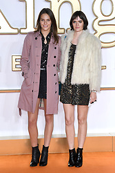 Charlotte Wiggins and Sam Rollinson (right) attending the Kingsman: The Golden Circle World Premiere held at Odeon and Cineworld Cinemas, Leicester Square, London. Picture date: Monday 18th September 2017. Photo credit should read: Doug Peters/Empics Entertainment