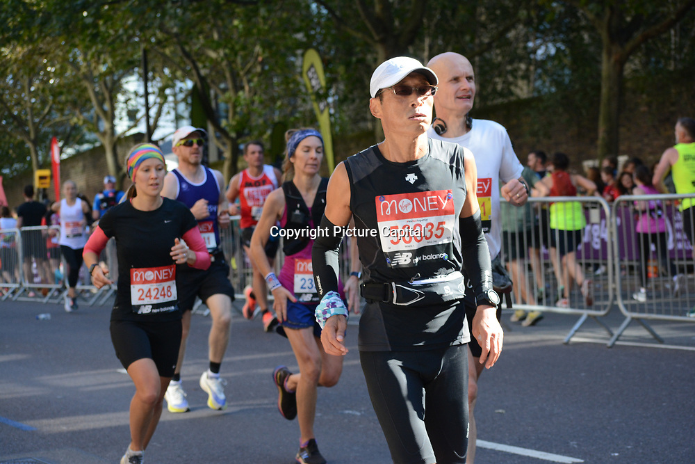 2021 London Marathon in London, UK. 3rd October 2021.