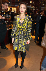 DAISY BATES at a party to celebrate 100 years of Chinese Cinema hosted by Shangri-la Hotels and Tartan Films at Asprey, New Bond Street, London on 25th April 2006.<br /><br />NON EXCLUSIVE - WORLD RIGHTS