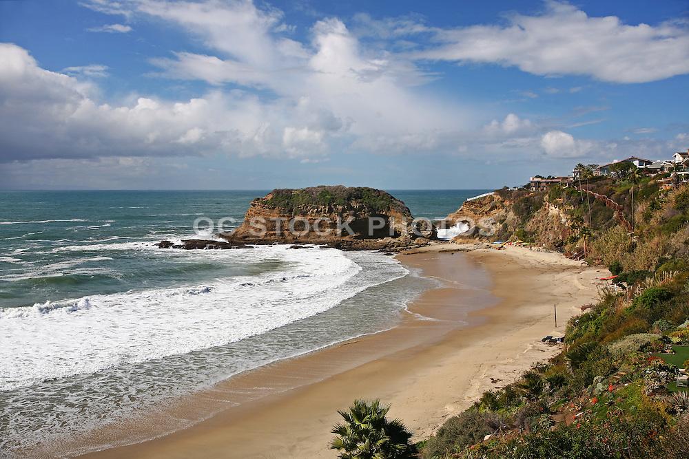 Private Beach at Three Arch Bay Laguna Beach California