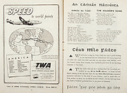 All Ireland Senior Hurling Championship Final,.Brochures,.05.09.1948, 09.05.1948, 5th September 1948, .Waterford 6-7, Dublin 4-2, .Minor Kilkenny v Waterford, .Senior Dublin v Waterford, .Croke Park, ..Advertisements, TWA Trans World Airline, ..Songs, An Tamran Naisiunta, The Soldier's Song,..Articles, Cead Mile Failte,