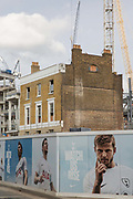 Building works and cranes for the new Tottenham Hotspur football ground on 30th October 2017 in North London, England