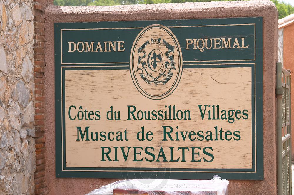 Domaine Piquemal, Espira de l'Agly, Roussillon, France