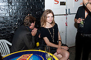 NATALIA VODIANOVA, Prada Congo Benefit party. Double Club. Torrens Place. Angel. London. 2 July 2009.