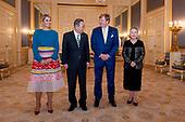 Koningspaar ontvangt Ban Ki-Moon