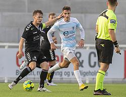 Mads Eriksen (Kolding IF) under kampen i 1. Division mellem FC Helsingør og Kolding IF den 24. oktober 2020 på Helsingør Stadion (Foto: Claus Birch).