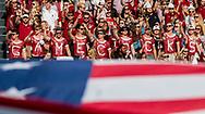 Oct 28, 2017; Columbia, SC, USA; South Carolina Gamecocks students cheer before the game against the Vanderbilt Commodores at Williams-Brice Stadium. Mandatory Credit: Jeff Blake-USA TODAY Sports