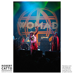 Alpha Blondy performs at WOMAD music festival in New Plymouth, Taranaki New Zealand.