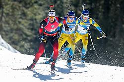 Sturla Holm Laegreid Men during the IBU World Championships Biathlon 20km Individual Men competition on February 17, 2021 in Pokljuka, Slovenia. Photo by Primoz Lovric / Sportida
