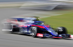May 13, 2018 - Barcelona, Spain - Brandon Hartley, team Toro Rosso, during the GP Spain F1, on 13th May 2018 in Barcelona, Spain. (Credit Image: © Joan Valls/NurPhoto via ZUMA Press)