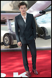 July 13, 2017 - London, London, United Kingdom - Image licensed to i-Images Picture Agency. 13/07/2017. London, United Kingdom. Harry Styles  arriving  at the world premiere of Dunkirk in London Picture by Stephen Lock / i-Images (Credit Image: © Stephen Lock/i-Images via ZUMA Press)