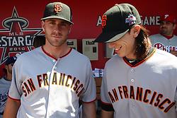 Brian Wilson and Tim Lincecum, 2010 World Series Champion Giants