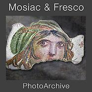 Roman Frescoes & Mosaic Wall Art Prints by Photographer Paul E Williams