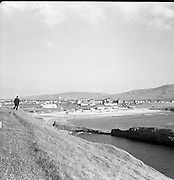 View of Bundoran, Co. Donegal, from Golf Links.20/06/1957