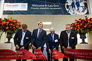 Comet Group's Lab One Ribbon Cutting and Grand Opening event at Comet Group in San Jose, California, on October 4, 2017. (Stan Olszewski for Slow Clap Productions)