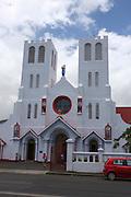 South Pacific, Samoa, Upolu Island Apia Catholic Church