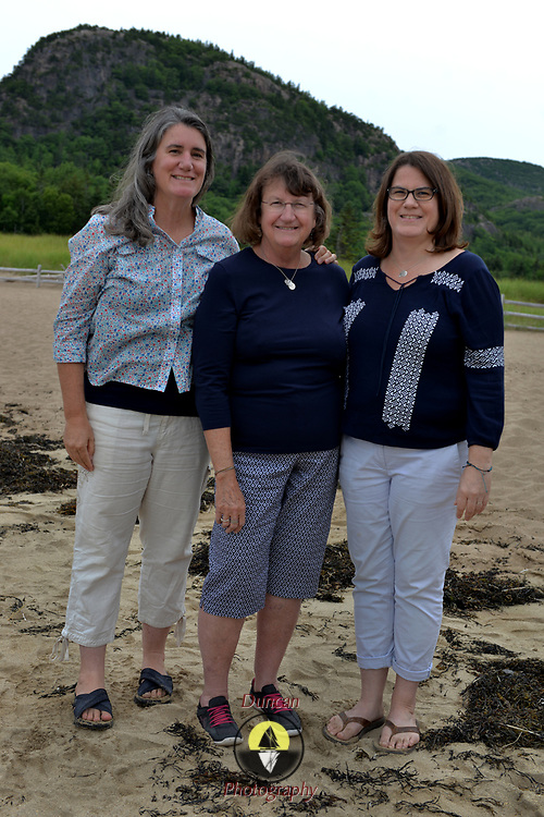ACADIA NATIONAL PARK, BAR HARBOR, Maine --  7/24/17 --   Family pictures made for Kim Reese and family at Sand Beach and Great Head. Photo © Roger S. Duncan. Permission granted to Reese Extended family to print and share as needed.