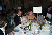 KASPAR HOLZ; TRICIA MACLEOD, Game & Wildlife Conservation Trust's Ball. Savoy Hotel. London. 6 November 2013.
