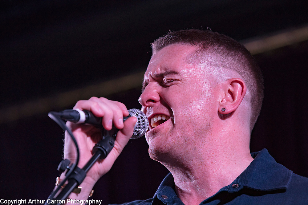 26/6/19 Damien Dempsey with the Black Bank Folks at the launch of their new album Last Star Fall, at Lost Lane, Dublin, available in store and online from June 28th. Picture: Arthur Carron