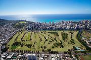 Ala Wai Golf Course, Waikiki, Honolulu, Oahu, Hawaii
