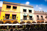 Restaurant on the Zocolo in Puebla