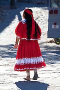 Tarahumara indian, Divisadero, Copper Canyon, Chihuahua, Mexico