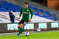 Birmingham City's Lukas Jutkiewicz (10) in action during the EFL Sky Bet Championship match between Cardiff City and Birmingham City at the Cardiff City Stadium, Cardiff, Wales on 16 December 2020.