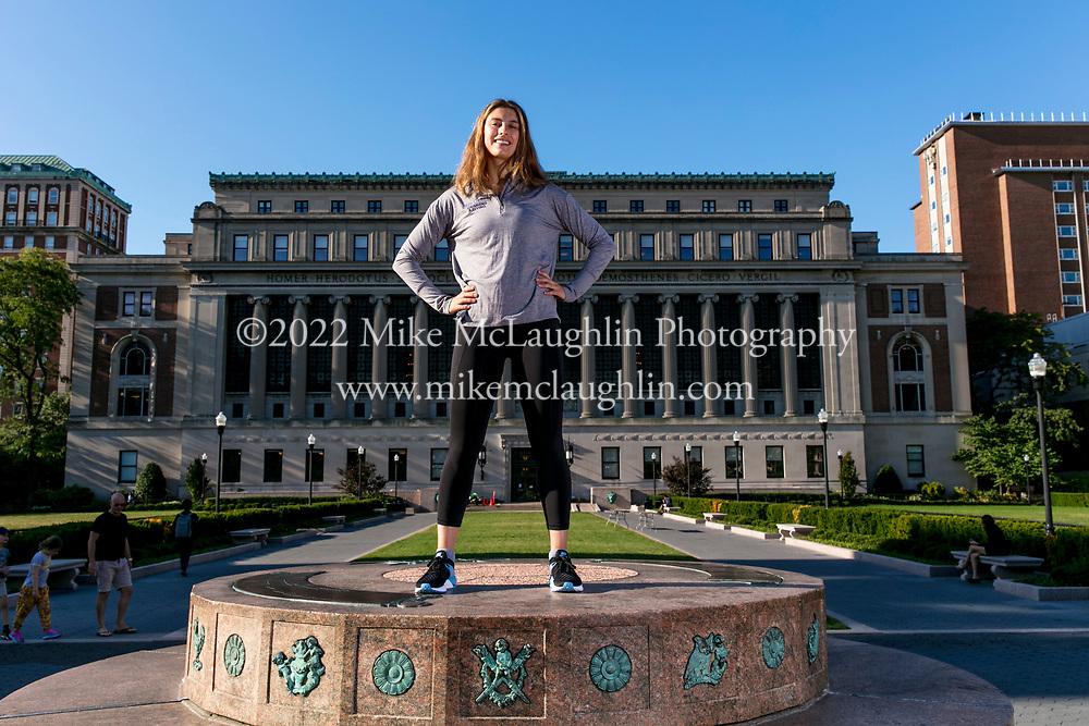 September 28, 2019 New York, NY<br /> Columbia University women's swimming and diving team.<br /> 2019 Mike McLaughlin<br /> https://mclaughlin.photoshelter.com/<br /> Mike McLaughlin