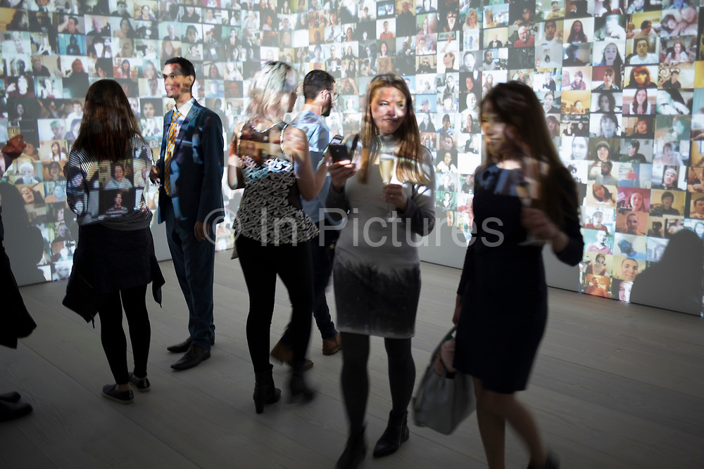 From Selfie to Self-Expression opening private view at the Saatchi Gallery on March 30th 2017 in London, England, United Kingdom. This is the world's first exhibition exploring the history of the selfie from the old masters to the present day, celebrating the truly creative potential of a form of expression often derided for its inanity.