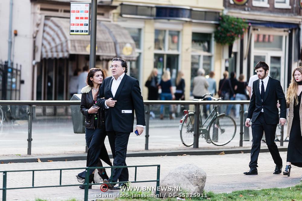 NLD/Utrecht/20160921- inloop Openingsavond NFF 2016: premiere DE HELD, Leon de Winter